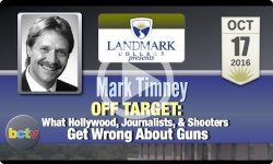 Landmark College presents: Mark Timney, 'Off Target' 10/17/16
