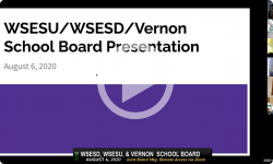 Windham Southeast School District WSESD: Joint Bd Mtg with WSESU and Vernon 8/6/20