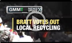 GMMT: Bratt votes to outsource recycling 12/13/16 (News Clip)