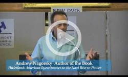 Brattleboro Literary Festival 2013: Andrew Nagorski,  'Hitlerland'