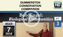 DCC: Bob Engel- Biological Communities #3- 3/7/16