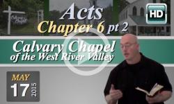 Calvary Chapel: May 17, 2015