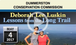 DCC: Lessons from the Long Trail - Deborah Lee Luskin 5/4/17