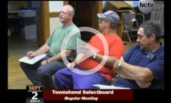 Townshend Selectboard Mtg 9/2/14
