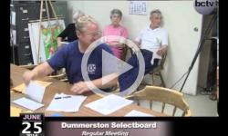 Dummerston Selectboard Mtg 6/25/14