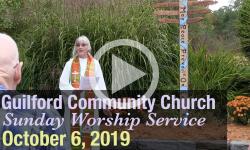 Guilford Church Service - 10/6/19