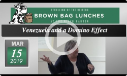 River Garden Brown Bag Lunch Series: Venezuela and a Domino Effect