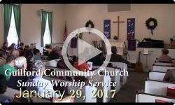 Guilford Church Service - 1/29/17