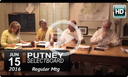 Putney Selectboard 6/15/16