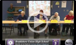 Brattleboro Union High School Bd. Mtg 11/3/14