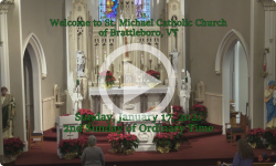 Mass from Sunday, January 17, 2021