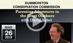 Dummerston Conservation Commission: Wild Play - Parenting Adventures in the Great Outdoors