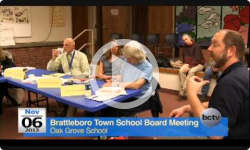 Brattleboro Town School Bd. Mtg. 11/6/13