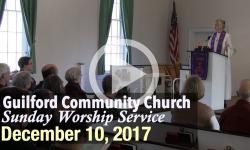 Guilford Church Service - 12/10/17