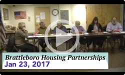 Brattleboro Housing Partnerships Mtg 1/23/17