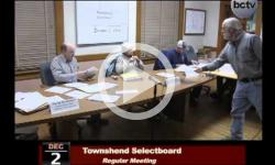 Townshend Selectboard Mtg. 12/2/13