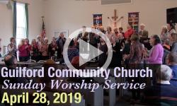 Guilford Church Service - 4/28/19