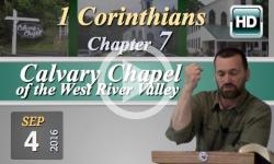 Calvary Chapel: 1 Corinthians, Chp 7