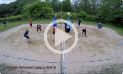 Chester Volleyball League: Highlanders vs Aces High 6/4/19