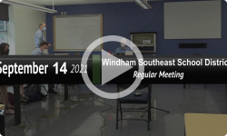 Windham Southeast School District: WSESD Bd Mtg 9/14/21