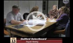 Guilford Selectboard Mtg. 1/13/14
