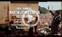 10th Annual Dr Martin Luther King Jr Celebration in Brattleboro, VT