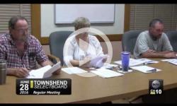 Townshend Selectboard Mtg 6/28/16
