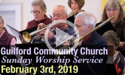 Guilford Church Service - 2/3/19