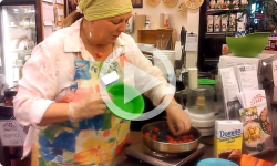 Day Kitchen with Donna: Goat Cheese and Berry Dessert