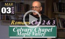 Calvary Chapel: Romans Chp 2 & 3