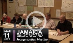 Jamaica Selectboard Mtg 3/11/19