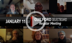 Guilford Selectboard: Guilford SB Mtg 1/11/21