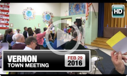 2016 Vernon Town Meeting: Night One 2/29/16