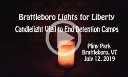 Brattleboro Rallies: Lights for Liberty 6/12/19