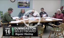 Dummerston SB 2019 01 16 loc