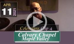 Calvary Chapel Maple Valley: Colossians Chp 4