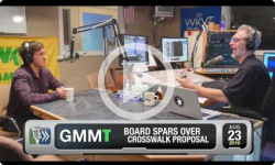 GMMT: Board Spars Over Crosswalk Proposal 8/23/16 (News Clip)