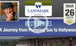 Landmark College Presents: Rusty DeWees - A Journey from Pumping Gas to Hollywood 3/26/19