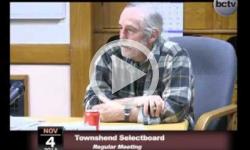 Townshend Selectboard Mtg. 11/4/13