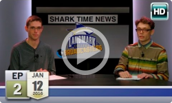 Landmark Broadcasters: 2016 J-Term- Shark Time News, Ep 2