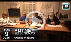 Putney Selectboard 3/9/15
