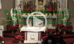 Mass from Sunday, January 27, 2019