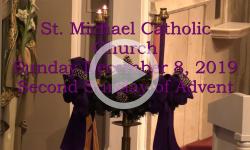 Mass from Sunday, November 8, 2019