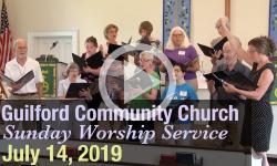 Guilford Church Service - 7/14/19