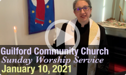 Guilford Church Service - 1/10/21