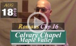 Calvary Chapel: Romans Chp 16