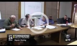 Townshend Selectboard Mtg. 5/24/16