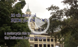 Couch Potatoe Productions:  10th Annual Ride for Heroes 8/17/19