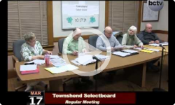 Townshend Selectboard Meeting 3/17/14