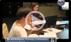 Brattleboro Planning Commission 10/22/14 Special Mtg